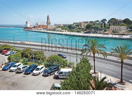 Sea View From Porto Pi