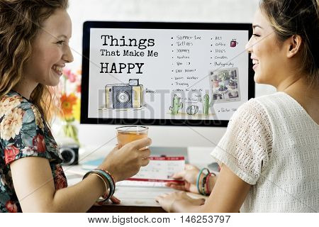 Things That Make Me Happy Concept poster