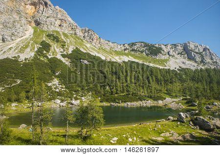 Seven Triglav lakes in Triglav national park, Slovenia