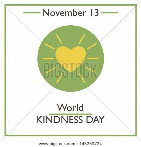 World Kindness Day. November 13