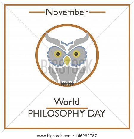 World Philosophy Day. November