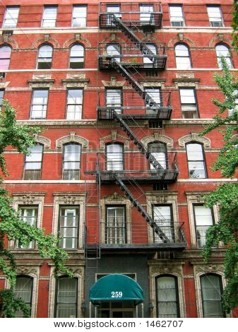New York City Fire Escape