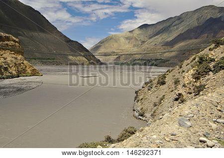 Kali Gandaki Valley Above Jomson