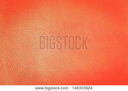 light orange leather texture can be used as background