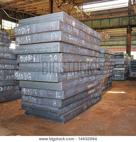 stack of heavy plates