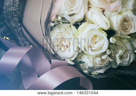 Colorful Flowers. It Looks Natural And Breezy. That Is Suitable For Background,backdrop,wallpaper An