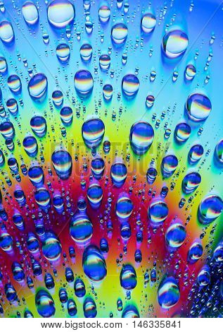 Water Drops On Cd Dvd
