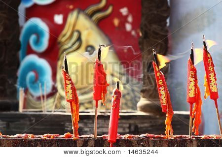 Chinese Red Candle, Thailand