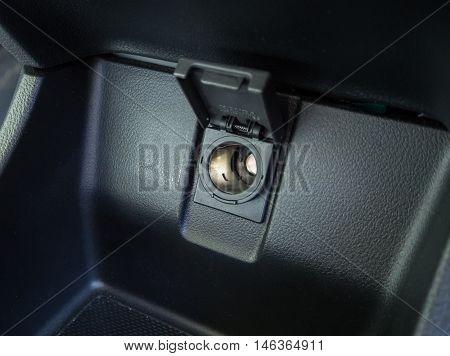 Cigarette Lighter in car dark tone 12v