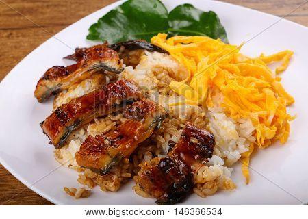 Unaju - Eel With Rice