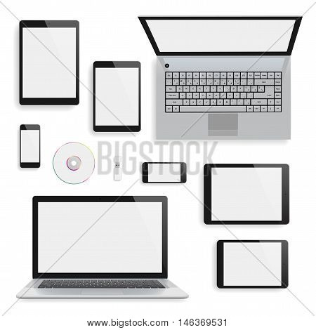 Laptops, Tablets And Smartphones