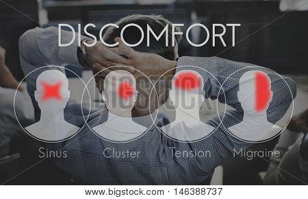 Headache Symptom Migraine Tension Cluster Concept
