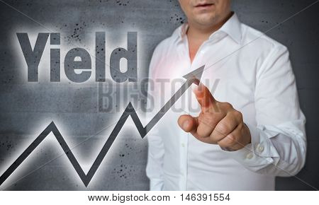 yield touchscreen is operated by man template