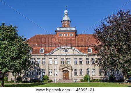 Amtsgericht In The City Park In Cloppenburg