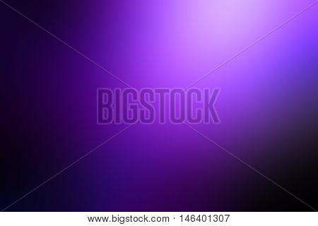 Light purple gradient room studio background / Abstract purple gradient background. Used as background for product display