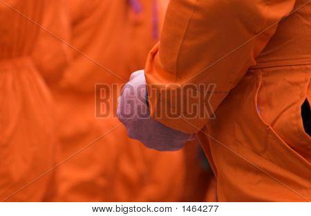 Orange Boiler-Suits