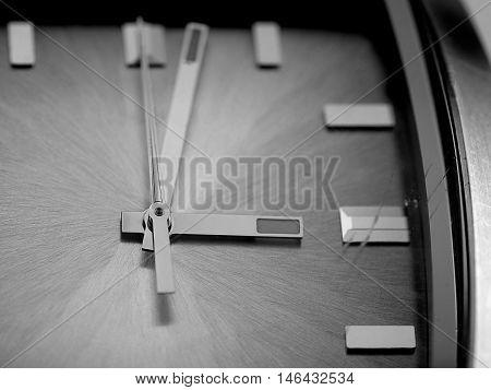 Old luxury watch, closeup, swiss made. Wrist watch