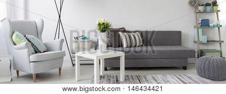 Living Room For Modern Woman