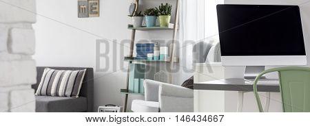 Quiet Home Office Area