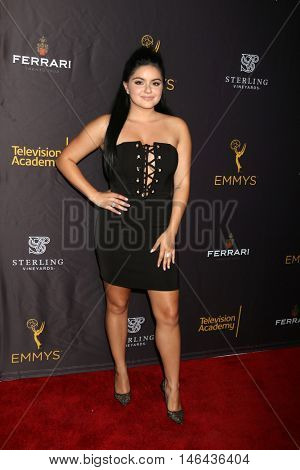LOS ANGELES - SEP 8:  Ariel Winter at the TV Academy Reception for the Nominees for Outstanding Casting at the Montage Hotel on September 8, 2016 in Beverly Hills, CA