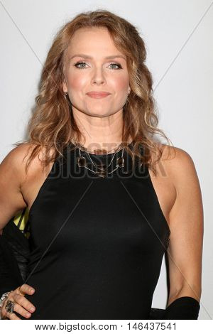 "LOS ANGELES - SEP 7:  Dina Meyer at the ""UNBELIEVABLE!!!!!"" Premiere at the TCL Chinese 6 Theaters on September 7, 2016 in Los Angeles, CA"