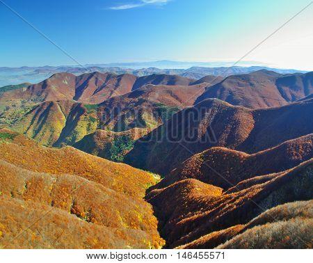 Autumn In Italian Appennines