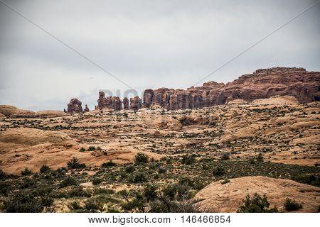 Moab Utah Arches National Parc Sand Rocks 7