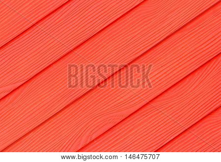 The Red paint wall wood of the paint beautifu background