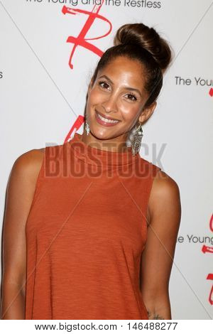 LOS ANGELES - SEP 8:  Christel Khalil at the Young and The Resltless 11,000 Show Celebration at the CBS Television City on September 8, 2016 in Los Angeles, CA