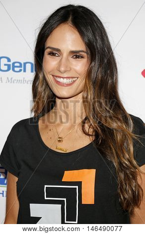 Jordana Brewster at the 5th Biennial Stand Up To Cancer held at the Walt Disney Concert Hall in Los Angeles, USA on September 9, 2016.