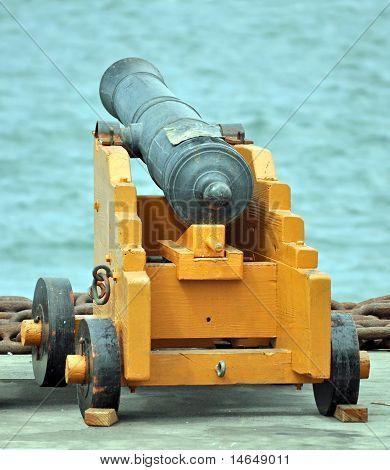 Alte Marinegeschütz