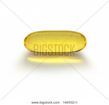 Transparent Medicine Capsule
