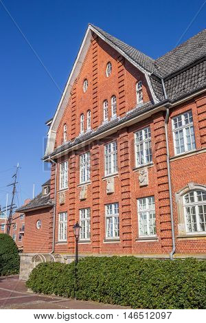 Historical Town Hall In The Center Of Papenburg