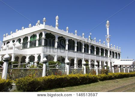 Eastern style building in Lautoka the second largest city in Fiji.