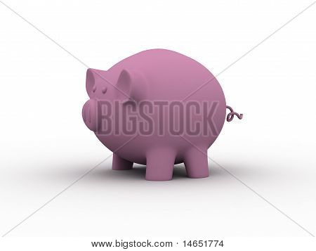 Cute Pink Piggy