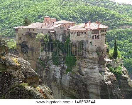 Meteora, The Amazing Hilltop Monastery in Greece