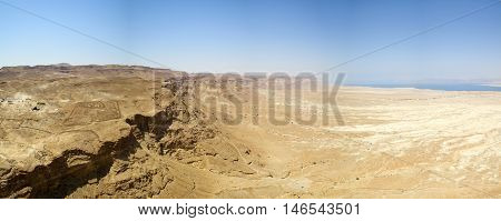 Desert Land Beside The Dead Sea