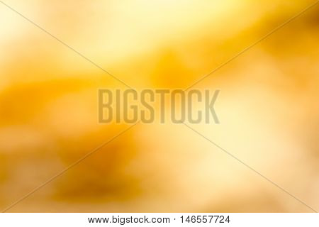 The abstract yellow Background or blurred colors.