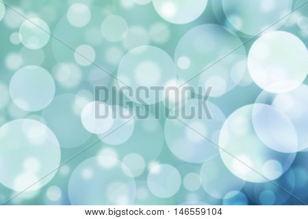 Green abstract Background bokeh or blurred colors.