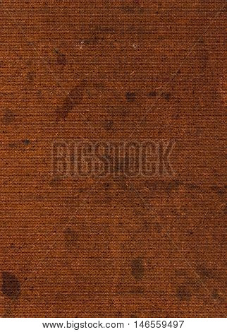 Close Up of a Pressed Brown Hardboard Background