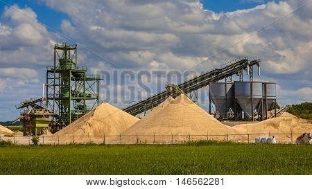 Sand Mining Terminal