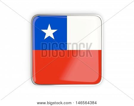 Flag Of Chile, Square Icon
