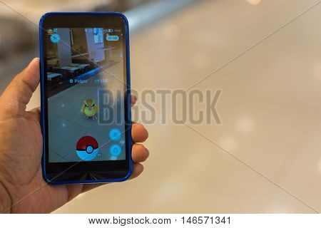 Pokemon Go Application Game