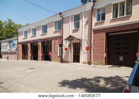 Building Of A Fire Brigade