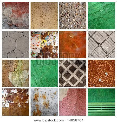 16 grunge backgrounds
