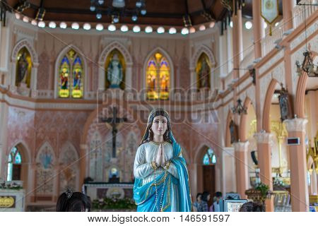 The Virgin Mary Statue