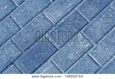 Close-up Of Color Pavement Cobble Stones.