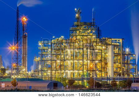 Industrial Chemical Plant Framework