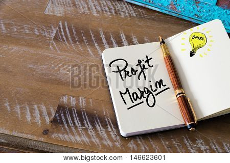 Written Text Profit Margin