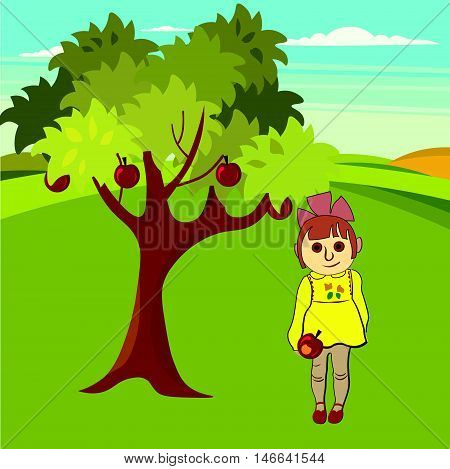 child's drawing the use of the imagination or original ideas especially in the production of an artistic work vector illustration
